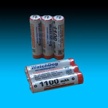 Picture of Rechargeable NiMH Battery for USAlert WatchDog Pager (3-Pack)